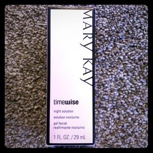 Mary Kay night solution for dry to Oily skin!